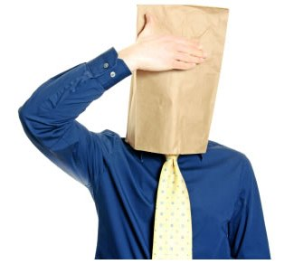 Are you hiding your business personality under a paper bag?
