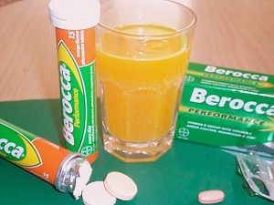Berocca - same product, different message.