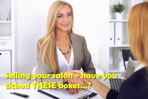 selling your salon